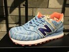NEW BALANCE WL574 LIFESTYLE WL574SIC SUMMER WAVES S/BLUE NAVY WOMEN SHOES
