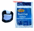 Eureka STK Quick UP 61544A Allergen Dust Cup Filter Series 96B 162A 164B 169A