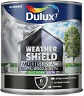 Dulux Weathershield Multi-Surface Quick Dry Satin Paint - All Colours / Sizes