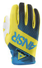 Answer Alpha Air 2015 MX Offroad Gloves Blue/Yellow