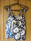 Abercrombie & Fitch Girls Ladies Blue Vest Tops XS or S NEW (Tags) RRP $34.50