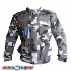 Motorcycle Textile Jacket Camo Cordura Dri Rider Style Jacket with Air Vents
