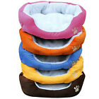 Warm Soft Fleece Puppy Pets Dog Cat Bed House Basket Nest Mat Waterproof New UK