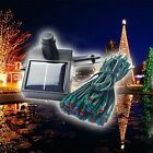 Solar Power 100/200 LED Fairy String Light Outdoor Garden Party Xmas Night Lamp