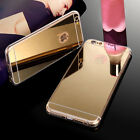Luxury TPU Soft Mirror Back Accessories Case Cover For Apple iPhone 5 6S Plus SH