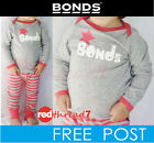 Bonds Pjs  Baby Girl Long Sleeve Pyjamas Tee Leggings Set Sleepwear Size 000 00
