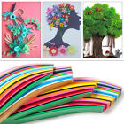 Paper Craft Art Quilling 360 Strips 36 Colors 540mm Length 3/5/7/10mm Width