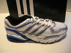 63e2adc0c56 ADIDAS BOYS GALAXY BOOST 2 K RUNNING SHOES- SNEAKERS- G12839 -WHITE BLUE