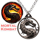Game Around Mortal Kombat Metal Chain Necklace Pendant Cosplay Jewelry New