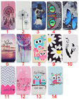 Patterned Wallet PU Leather Stand Phone Case for Samsung Galaxy AMP 2 / J1 2016