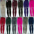 WINTER CABLE KNIT FOOTLESS FLEECE Stretch Leggings TX200 ONE SIZE(fits S,M,L,XL)