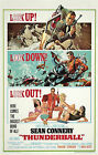 Home Wall Print - Vintage Movie Film Poster -JAMES BOND THUNDERBALL -A4,A3,A2,A1 £5.99 GBP on eBay