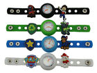 Kids DIY Watch + 16 Paw Puppy , Patrol Power Badge Charms Party Christmas Gift