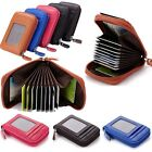 Mini Slim Mens Card Purse Package Case Holder Organ Style Wallet