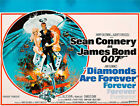 Home Wall Print - Vintage Movie Film Poster -DIAMONDS ARE FOREVER - A4,A3,A2,A1 £10.99 GBP