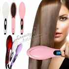Electric Hair Fast Straightener Comb Irons Brush Auto Massager Tool EU/US/UK/AU