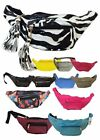 NEW LADIES FAUX LEATHER PU PATENT BUMBAGS TRAVEL QUILTED FESTIVAL HOLIDAY POUCH