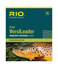 RIO Trout Fly Fishing VersiLeader 7ft & 12ft Sinking Tungsten Leaders