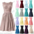 New Mini Woman's Bridesmaid Formal Evening Party Prom Homecoming Dress Size 6-22
