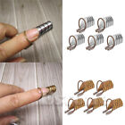 5PCs Nail Forms UV Gel Tool Acrylic French Tips Reusable Art for Home Salon Used