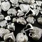 Antique Silver Acrylic Charm Packs - 14 types to choose from - 15 gramms/pack