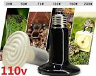 DZ1076 Ceramic Infrared Heat Emitter E27 Lamp Light Bulb for Reptile Pet 110V