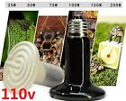 DZ1076 □ Ceramic Infrared Heat Emitter E27 Lamp Light Bulb for Reptile Pet 110V