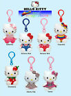 Ty Hello Kitty Keyring Key Clip - Plush Beanie Soft Toy - Choose Your Design