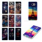 Soft TPU Back Case + Transparent TPU Bumper Skin For Samsung Note 5 N9200 JMHG