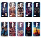 Art Pattern Blue Ray painted TPU Protective Case for LG Leon H340N JMHG