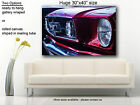 """Ford Mustang Canvas print American muscle car  Huge 30""""x40"""""""
