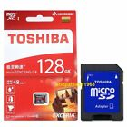 Toshiba 128G Exceria Micro SD SDHC SDXC 128GB 128 G Class 10 48MB/s UHS USWH
