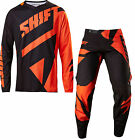 NEW 2017 SHIFT RACING BLACK LABEL MAINLINE COMBO DIRTBIKE BLACK/ORANGE ALL SIZES