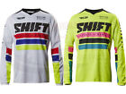 Shift MX Racing Adult Recon Phoenix Jersey White Ylw Motocross ATV Off Road MTB
