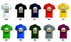 N109 CAMISETA HOMBRE T-SHIRT MAN GENIUS FUNNY DIVERTIDO PATO DONALD CARTOONS