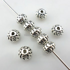 56/500pcs Tibetan silver Oblate Spacer Beads 5x7mm  (Lead-free)