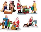 Lemax Christmas Village Lemax Christmas Figurines Santa - Nativity Brand New