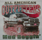 ALL AMERICAN OUTFITTERS BACKWOODS MUD BOGGIN 4X4 TRUCK SHIRT #327