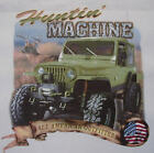 ALL AMERICAN OUTFITTERS HUNTIN' MACHINE 4X4 JEEP SHIRT #331