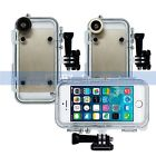 Extreme Sports Waterproof Case 170 Degrees Wide Angle Lens for iPhone 5 5S SE