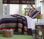 Greenland Marley Multi Colored Quilt Set
