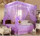 Purple Princess Bedding Canopy Mosquito Netting Or Frame Twin Full Queen King