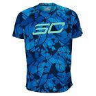Under Armour Men's SC30 ( Curry) Logo T-shirt New Electric Blue FREE POSTAGE