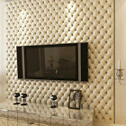 CUTE 3D Plaid Checked Wallpaper Home Luxury Wall Paper Living Room Bar Decor 10M