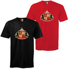 Sunderland Football Club Official Soccer Gift Mens Crest T-Shirt
