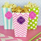 24 Personalized Custom Popcorn Treat Baby Bridal Shower Party Favor Boxes