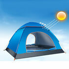 PRO Outdoor Large 6 Person Hiking Camping Automatic Instant Pop up Family Tent