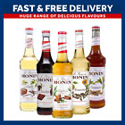 Monin Coffee Syrups 70cl Bottles - AS USED BY COSTA COFFEE - Select Flavours