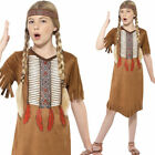 Kids Native American Girl Costume Childrens Fancy Dress Historical Smiffys 45479