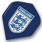 Set of 3 England Football 3 Lions Dart Flights Red or Blue Free P&P